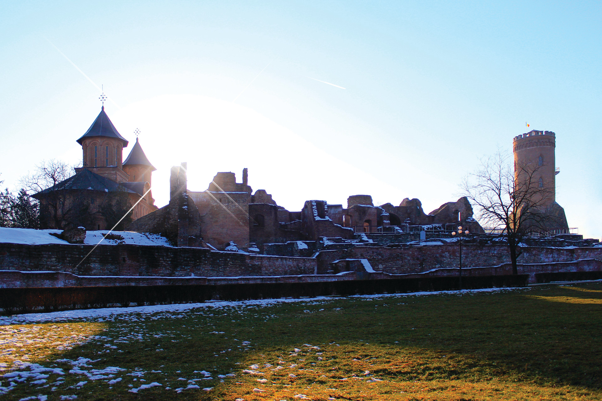 Princely Fortress walls